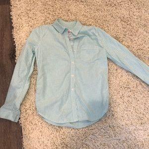 Mint Button Down Women's dress shirt ❤️